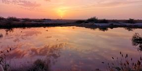 KP_Aibi Lake_sunset