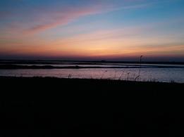 Bohai Bay sunset